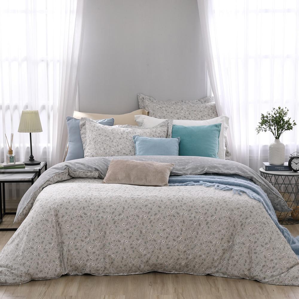 BBL Premium 微香春意100%精梳棉印花兩用被床包組(加大)