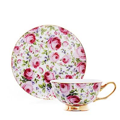 Royal Duke 骨瓷咖啡杯碟組-花戀(玫瑰)(二杯二碟)