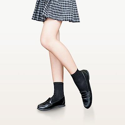 【Titan】太肯純棉學生船型襪_黑白兩色_5雙(適合學生、上班族、基本款穿搭)