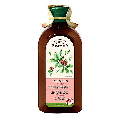 Green Pharmacy 草本肌曜 人蔘元氣平衡洗髮露 350ml