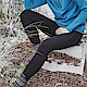 ADISI 男Power Stretch pro保暖長褲AP1821087【黑色】 product thumbnail 1
