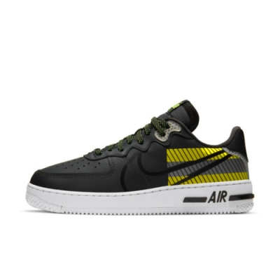 NIKE AIR FORCE 1 REACT LX 3M 男休閒鞋-黑-CT3316003