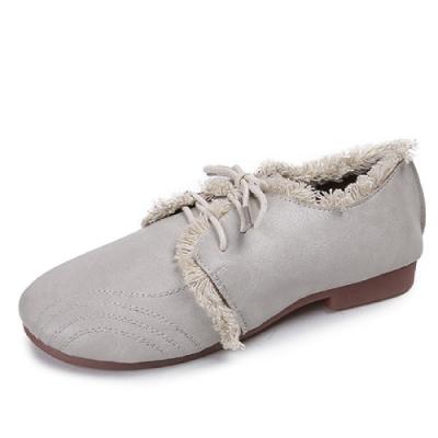 KEITH-WILL時尚鞋館 特惠款歐美復古休閒鞋-灰
