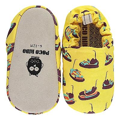 英國 POCONIDO 手工嬰兒鞋 (碰碰車)