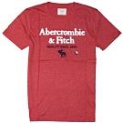 AF a&f Abercrombie & Fitch 短袖 T恤 紅色 1471