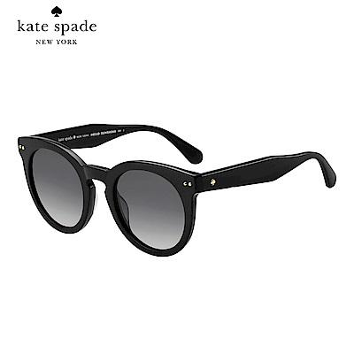Kate Spade ATALIA/S-經典方框太陽眼鏡 黑色