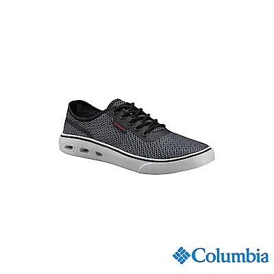 Columbia 哥倫比亞 男款-水陸休閒鞋-黑色 UBM46260BK