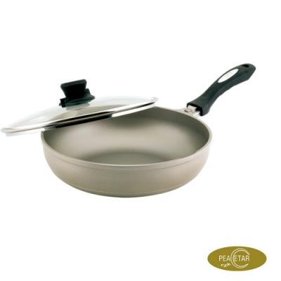 【必仕達 Peacetar 】輕食二代澳洲原礦深型料理平底鍋28cm