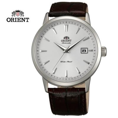 ORIENT 東方錶DATE系列 日期顯示功能機械錶 皮帶款 FER27007W - 41mm
