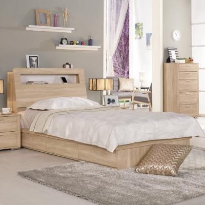 Boden-裴拉3.5尺單人抽屜式床底(不含床頭箱及床墊)
