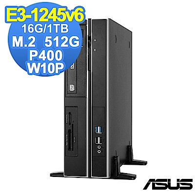 ASUS WS660 SFF E31245v6/16G/1T+512G/P400/W10P