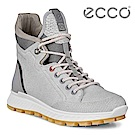 ECCO EXOSTRIKE 突破極限高筒運動戶外靴 女-白