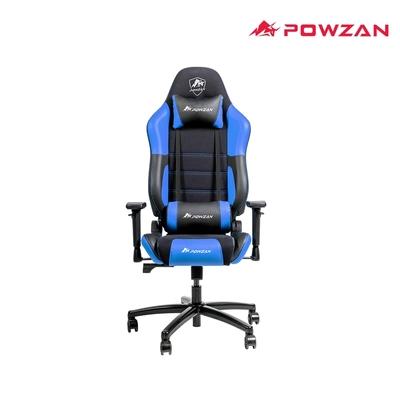 POWZAN CR-GC603 3D立體包覆遊戲賽車椅 電競椅 - 黑藍