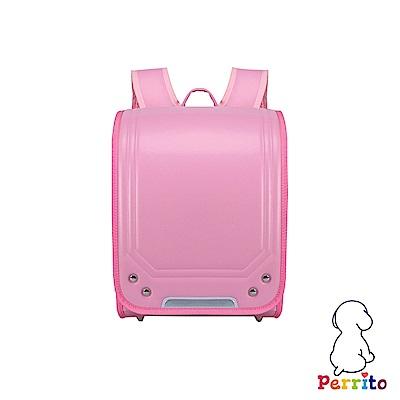 Perrito「忍者學園」日式核心護脊兒童書包 (粉色)