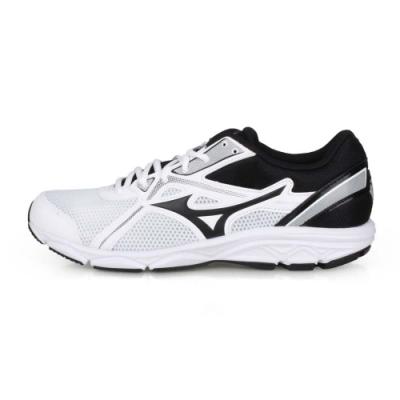 MIZUNO 男 慢跑鞋-WIDE MAXIMIZER 22 白黑
