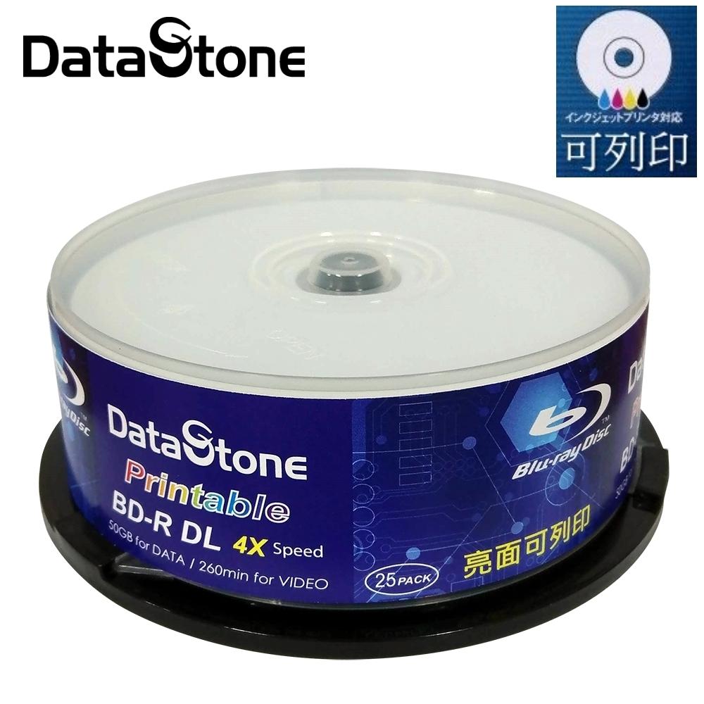 DataStone A+ 藍光 4X BD-R DL 50GB 亮面相片滿版可印X100片