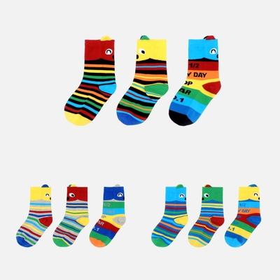 WHY AND 1/2 mini 三隻一組短襪 多色可選