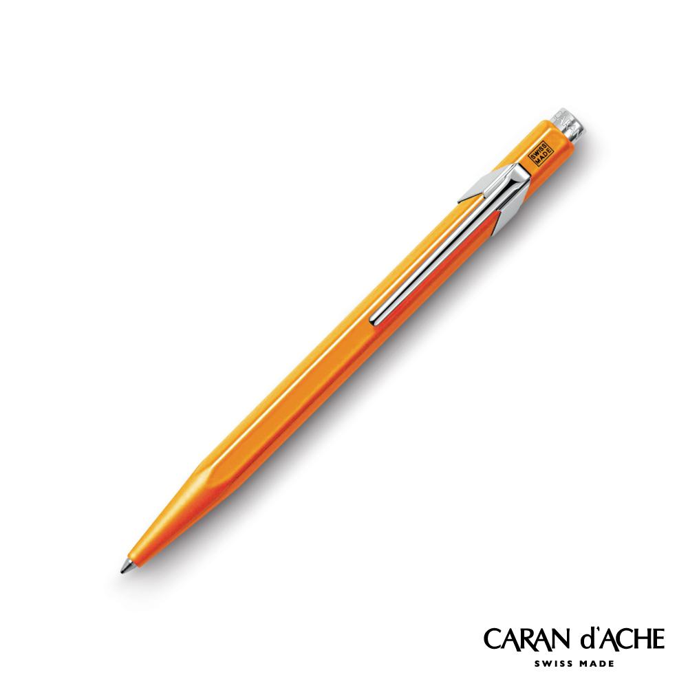 CARAN d ACHE卡達 - 849系列 Pop橘 原子筆 (瑞士製)