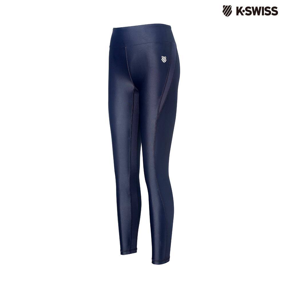 K-SWISS Performance Leggings運動壓力褲-女-黑