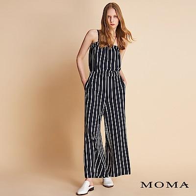 MOMA 條紋細肩連身褲