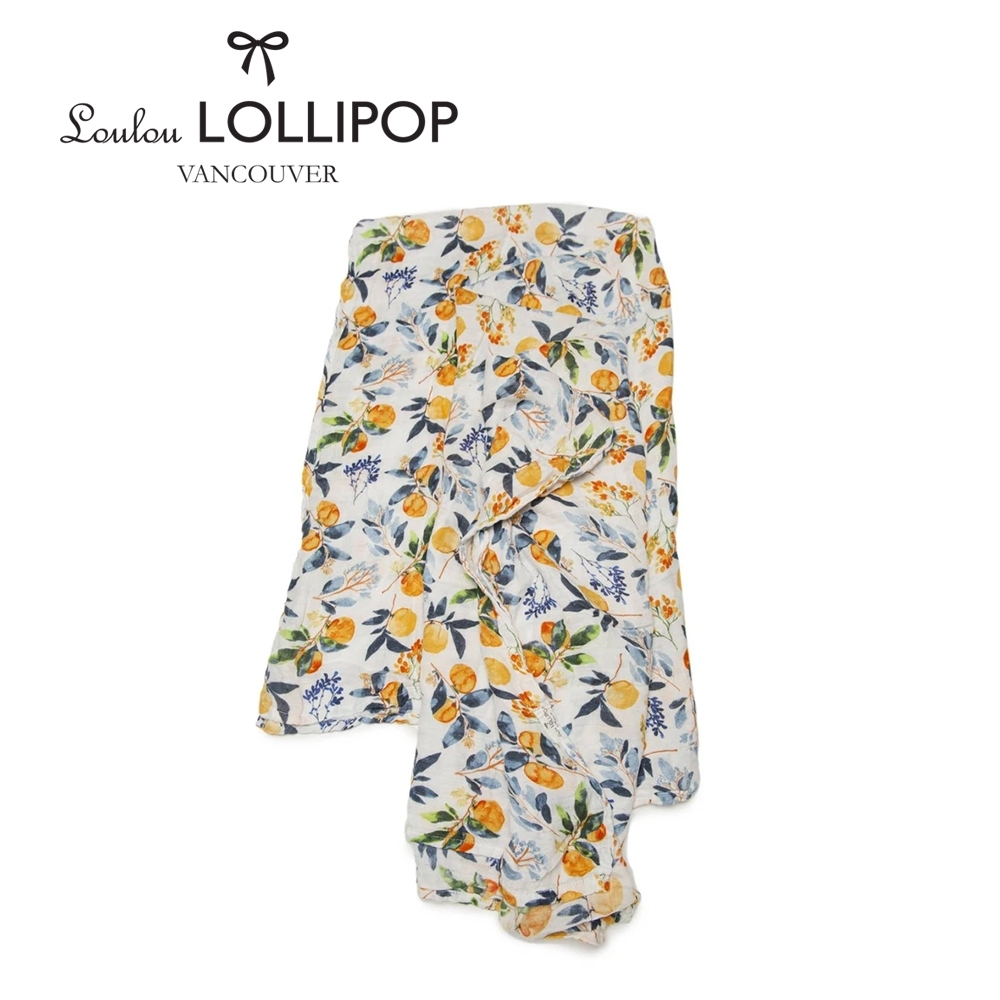 加拿大Loulou lollipop 竹纖維透氣包巾120x120cm-敖德薩