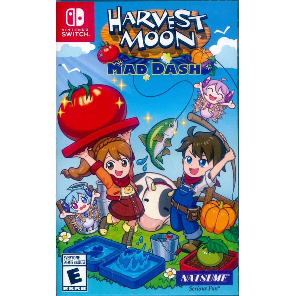 豐收之月:Mad Dash Harvest Moon - NS Switch 中英文美版