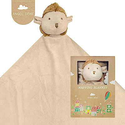 美國 Angel Dear 大頭動物嬰兒毛毯禮盒版 (小刺蝟)