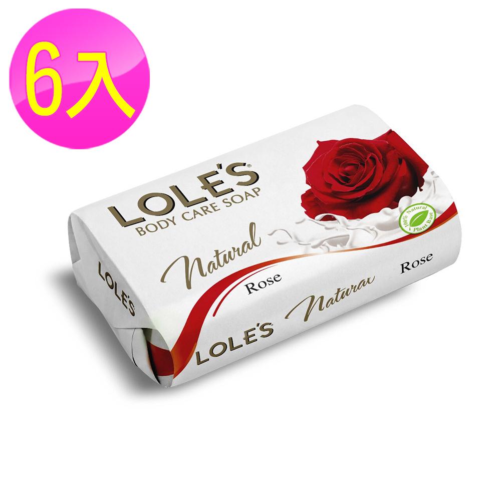 (6入組)LOLES 草本玫瑰護膚皂150g
