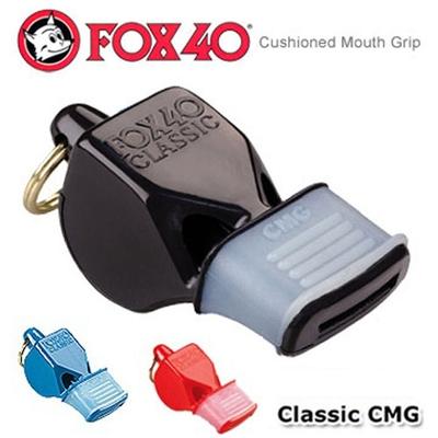 加拿大 FOX 40 CMG 改良式高音哨有護嘴求生哨(115分貝/附頸繩).訓練哨子