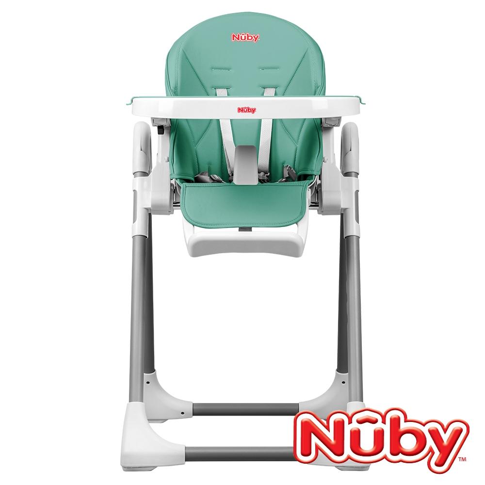 (滿額回饋超贈點)【美國 Nuby】多功能成長型高腳餐椅-仙人掌綠