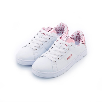 FILA 中性潮流復古綁帶鞋-粉紅 5-C617T-510