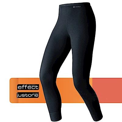 瑞士 ODLO warm effect 女機能型銀離子保暖長褲_黑