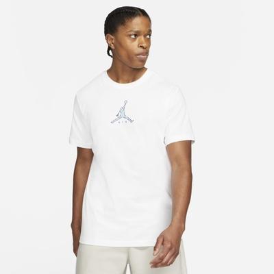 Nike J BRAND 23 SWOOSH SS CREW 男短袖上衣-白-CZ8379100