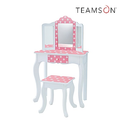 Teamson 吉賽兒時尚化妝桌椅組 (3色)