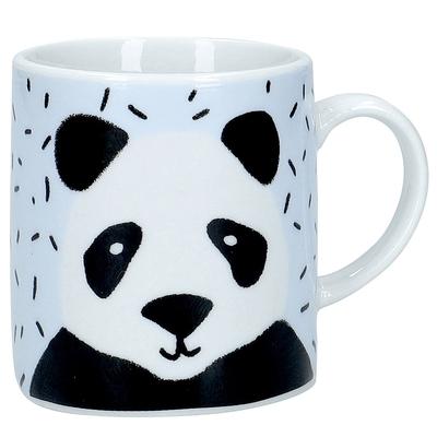 《KitchenCraft》瓷製濃縮咖啡杯(貓熊80ml)