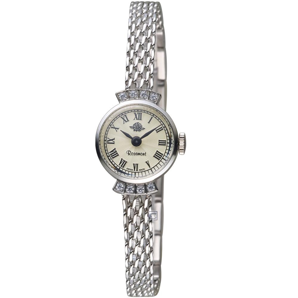 Rosemont巴黎1925系列時尚鍊錶(TRS7-03-SMT2)-銀