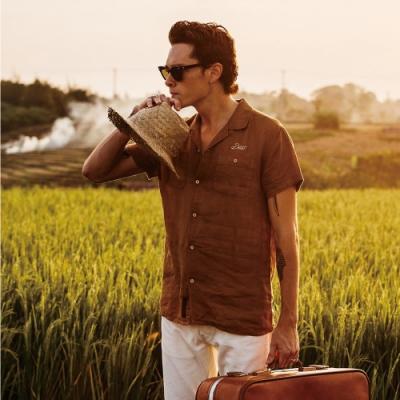 Deus Dean Linen Ss Shirt 短袖襯衫 - 黃 (男/女)