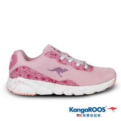 KangaROOS 美國袋鼠鞋 女 RUN SWIFT 超輕量慢跑鞋(粉紅-KW01603)