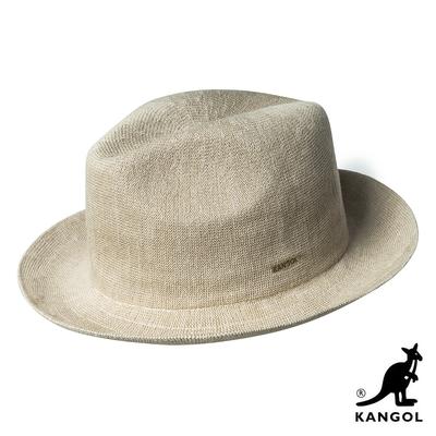 KANGOL-BAMBOO 紳士帽 - 米色