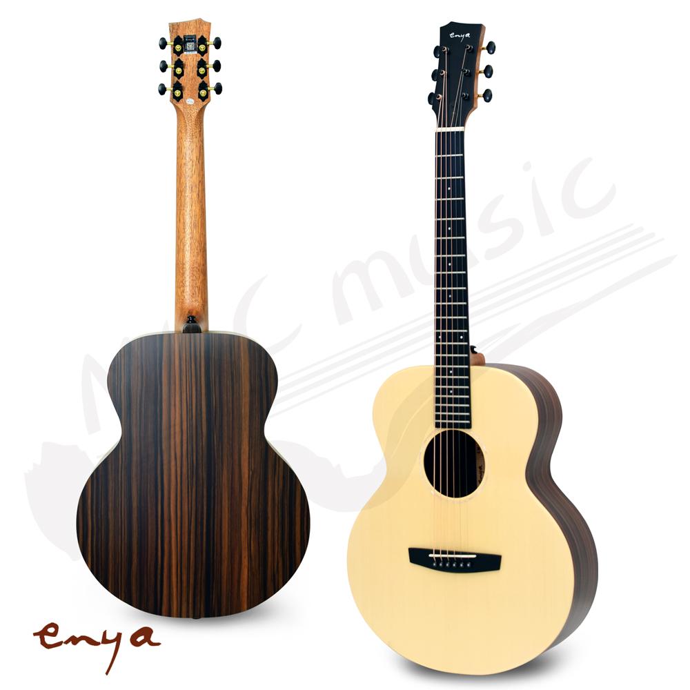 恩雅 ENYA 36吋 旅行吉他 單板雲杉木 木吉他(EM-X2)贈原廠厚琴袋+配件包
