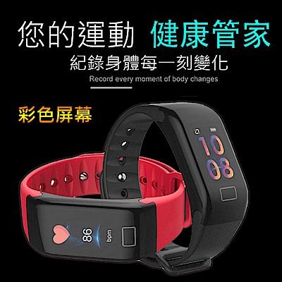 美國熊 大字體 血氧 血壓 心率 智慧手環 手錶