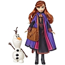 迪士尼公主系列 - 冰雪奇緣2 公主與陪伴配件組(安娜)