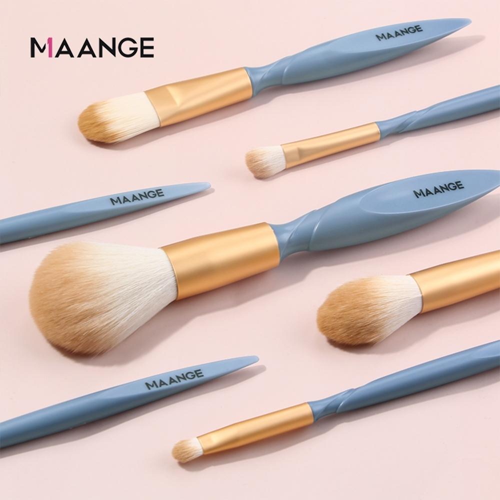 MAANGE 雙飛柄化妝刷具套裝 彩妝化妝刷具10件組 美妝工具