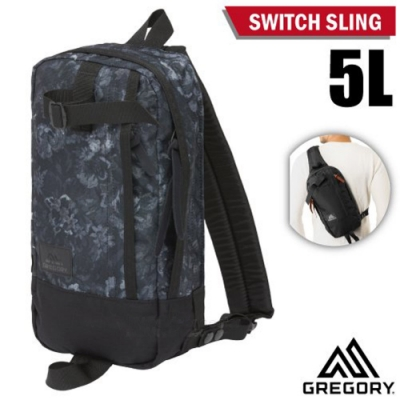 GREGORY Switch Sling 單肩後背包5L_闇黑印花