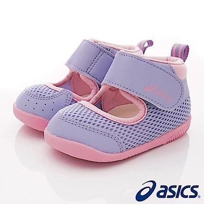 asics競速童鞋 輕量透氣學步款117-500紫(寶寶段)