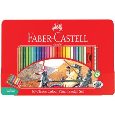 FABER-CASTELL 油性色鉛筆 60色 115893