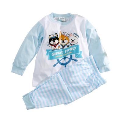 台灣製琦菲家族薄長袖套裝 k61022 魔法Baby