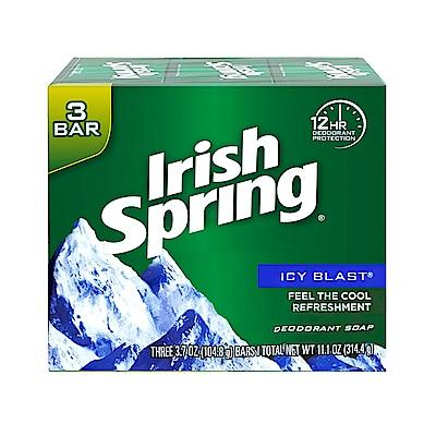 美國 Irish Spring 酷涼香皂-104.8g(3入組)