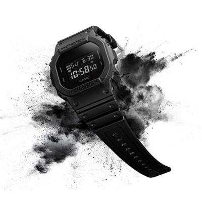 CASIO 卡西歐 G-SHOCK 經典人氣電子錶 DW-5600BB-1