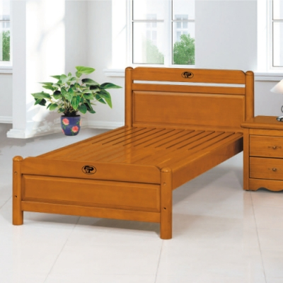 AS-凱蒂5尺柚木色床底-156x200.4x87cm
